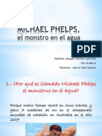 MICHAEL PHELPS, El Monstro en El Agua
