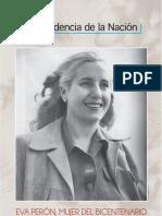 Muestra Eva Perón, Mujer del Bicentenario