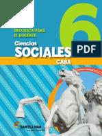Sociales 6 Caba Docente