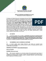 Edital Proofpoint Antispam - CGU - Edital Do Pregão 2013 n 00190019834201321