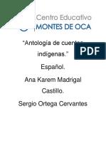 Antología de Cuentos Indígenas