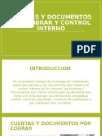 Cuentas y Documentos Por Cobrar y Control Interno