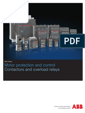 ABB Motor Protection and Control 2016 | Relay | Inductor on