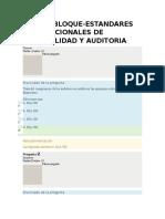 Estandares Internacionales de Contabilidad y Auditoria - Parcial Final