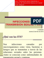 Infecciones de Transmisión Sexual (ITS)