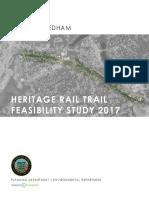 2017 Dedham Heritage Rail Trail