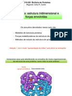 Aula on-line 2 - Proteinas 3D e Forcas