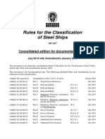 RULES BV NR467 Consolidated January2016