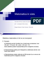 Matematica in Viata