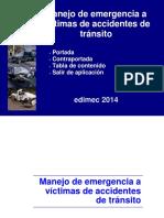 Manejo de Emergencia a Victimas de Accidentes de Trafico
