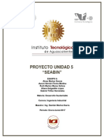Proyecto Desarrollo sustentable Documento Unidad 5