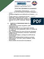 1° ASAMBLEA CON DOCENTES 2017-1