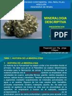 Mineralogía Descriptiva
