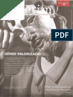 Gênio Valorizado. Boletim Da UFMG, n. 1882, Ano 41, Out. 2014