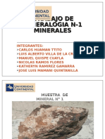 MINERALES 12-03-16 Mineralogia