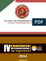 2014  IV Congreso Internacional - Cusco.pptx