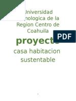 Proyecto Casa Sustentable