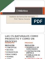 Didactica de La Biologia II Las Cs Naturales Como Producto y Proceso