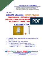 Feronerie GU . Balama 3D,Broasca,Broasca Multi Punct,Amortizoare,Manere Fereasta,Garnituri,Armaturi