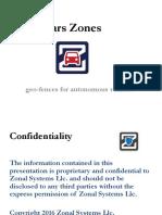 Zonal Control for Autonomous Vehicles