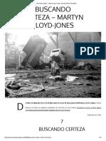 Buscando Certeza - Martyn Lloyd-Jones