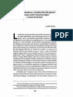 Butler - Actos performativos y constitución de género.pdf