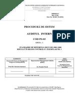 Procedura de Sistem - Auditul Intern (3)
