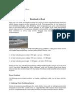 Tugas Desalinasi Air Laut