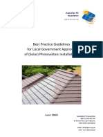 APVA Best Practice PV Guidelines for Local Government