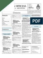 Boletin Oficial 29-07-10 - Tercera Seccion