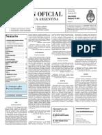 Boletin Oficial 28-07-10 - Segunda Seccion