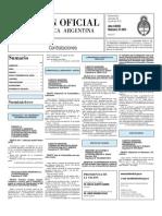 Boletin Oficial 28-07-10 - Tercera Seccion