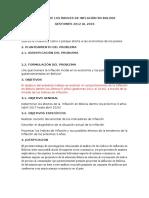 Análisis de Los Índices de Inflación en Bolivia