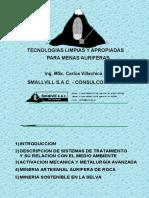 TECNOLOGIAS LIMPIAS Y APROPIADAS PARA MENAS AURIFERAS.ppt
