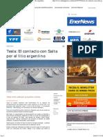 2017-05-24 - MinPress _ Tesla El Contacto Con Salta Por El Li Argentino