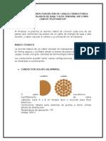 Practica 3 CARACTERIZACIÓN DE CABLES DESNUDOS