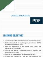 11 Capital Budgeting