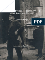 Arthur Evans in Dubrovnik and Split