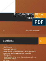 Fundamentos de La Bioqúimica