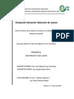 Evaluación Sensorial_selección de Jueces