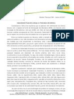 CNM Calamidade Financeira Atualizado Em 18 de Janeiro