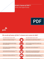 Pwc Hri Top Healthcare Issues 2017 Chartpack