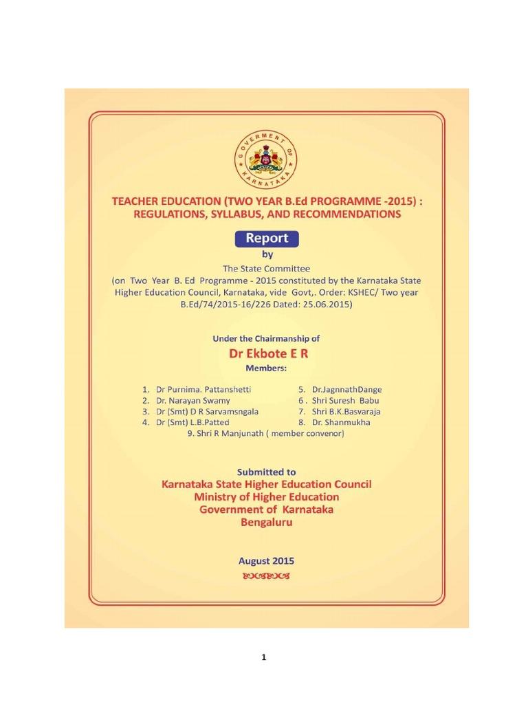 Bed syllabus karnataka india university and college admission bed syllabus karnataka india university and college admission curriculum fandeluxe Gallery