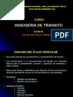Ingenieria de Transito Clase 3..Flujo Vehicular