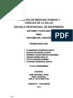Monografía Anatomía Del Corazón