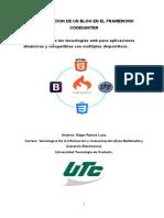 Elaboracion de Un Blog en El Framework Codeigniter