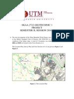 Project SKAA2722-20162017-2 Geoteknik 1