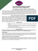 Reglamento de Juego Afffo 2016