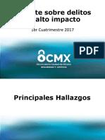 Reporte OCDMX 2017
