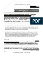 NSA Report on Russia Spearphishing